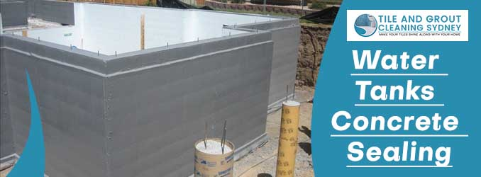 Water Tanks Concrete Sealing Sydney