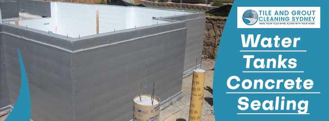 Water Tanks Concrete Sealing Sydney